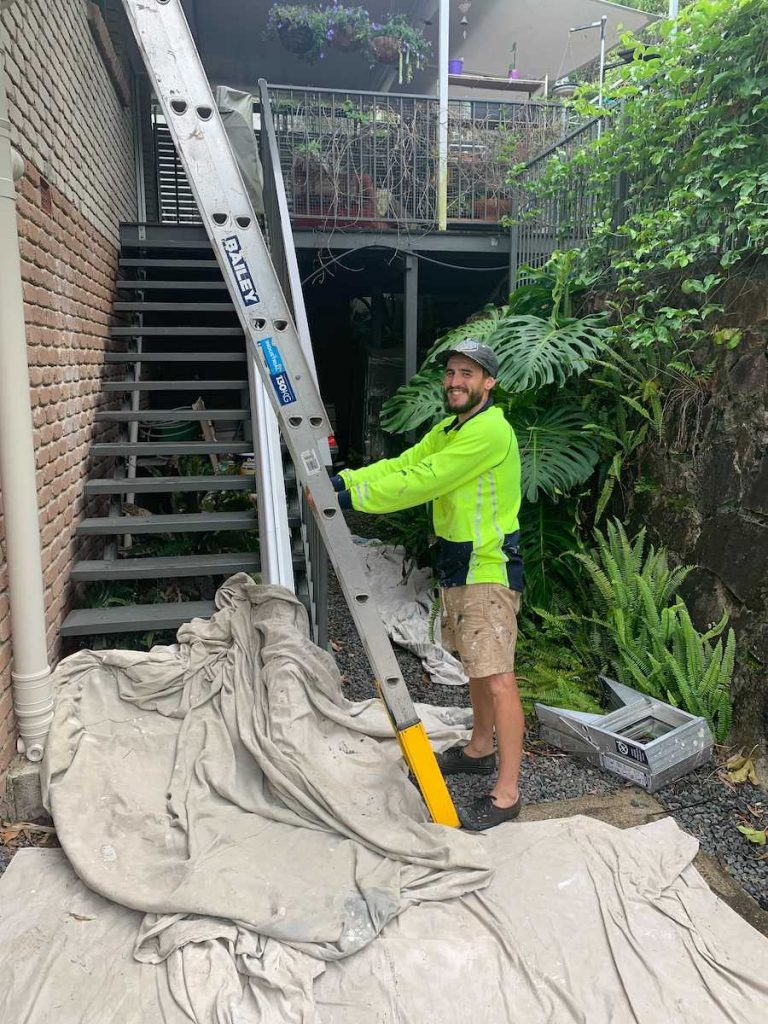 Alltech Coatings Sunshine Coast painter at Buderim gardens